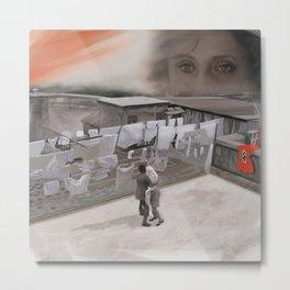 """""""una giornata particolare"""" tribute to Ettore Scola Metal Print"""