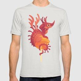 Dragonpop alebrije cherry orange T-shirt