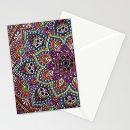 Purple Mandala Stationery Cards