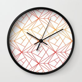 rays of lines Wall Clock