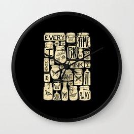 Pinkerton Wall Clock