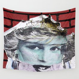 Paper Princess Wall Tapestry