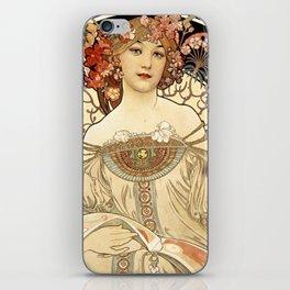 Art Nouveau iPhone Skin