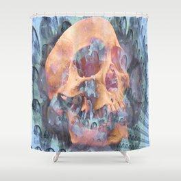 Death of a Galaxy Shower Curtain