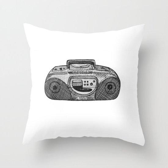 Radio Throw Pillow