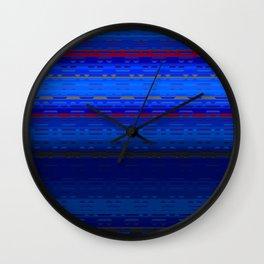 PaintedDesert 07 Wall Clock