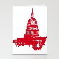 washington dc Stationery Cards featuring Washington DC  by ialbert