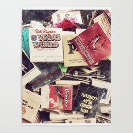 Vintage Matchbook Collection Poster