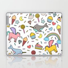 Pegasuses, Narwhals & Sugary Treats Laptop & iPad Skin
