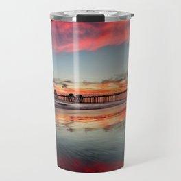 Huntington Beach Sunsets  8/5/15  Travel Mug