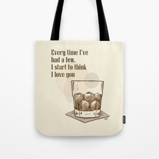 Scotch Love by RonkyTonk Tote Bag