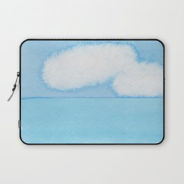 Fuzzy Wuzzy Caterpillar Clouds Laptop Sleeve