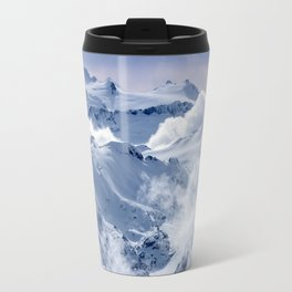 Snowy Mountains and Glaciers Travel Mug