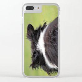 Rudy ~ Border Collie Clear iPhone Case