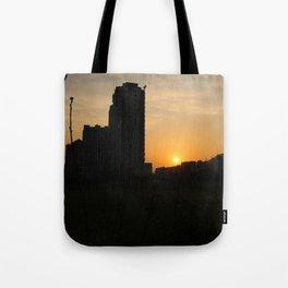 Duqiao Sunset Tote Bag