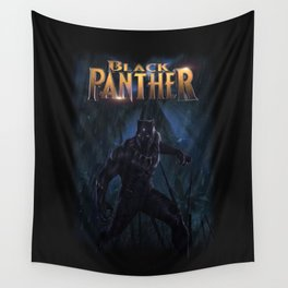 T'Challa , The Black Panther Wall Tapestry