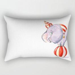 The balancing act watercolor illustration Rectangular Pillow