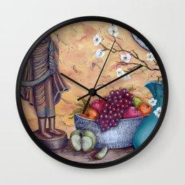 Malayan Table Wall Clock
