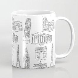 Europe at a glance Coffee Mug