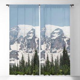 Mount Rainier National Park Blackout Curtain