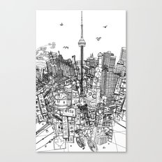 Toronto! (version #2) Canvas Print