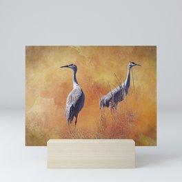 Sandhill Cranes Mini Art Print