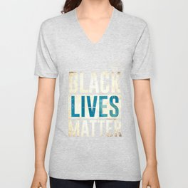 Black Lives Matter I Cant Breathe   Fuck the Police   I can't Breathe - Justice for George - George Floyd   Breonna Taylor   Protest     Unisex V-Neck