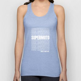 Enduro Motorcycle Motocross Supermoto MX Gift Unisex Tank Top