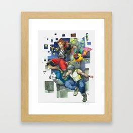 Dream Jumping Framed Art Print