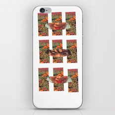 Lady in the Field of Flowers iPhone & iPod Skin