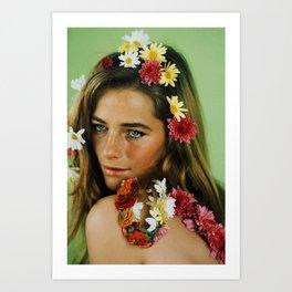 Remember Charlotte Rampling. Art Print