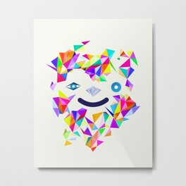 Chromatic character  Metal Print