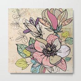 Paper Flowers #5 Metal Print