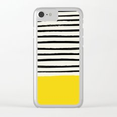 Sunshine x Stripes Clear iPhone Case