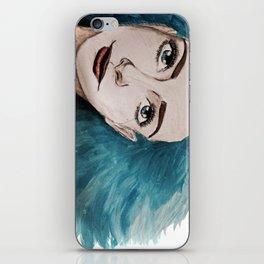 Ocean girl iPhone Skin