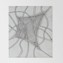 Tangled Net Throw Blanket