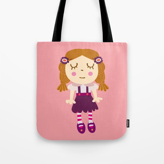 sleep doll Tote Bag