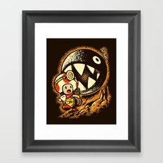 Raiders of the lost star Framed Art Print