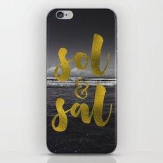 Sol & Sal iPhone & iPod Skin