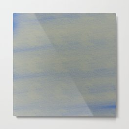 Chalky background - blue and gray Metal Print
