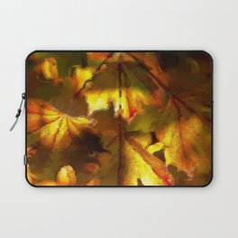 Sun kissed Sycamore leaves Laptop Sleeve