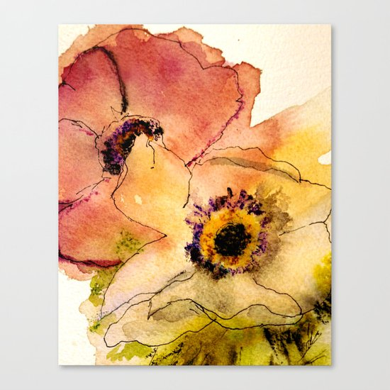 miracle flowers Canvas Print