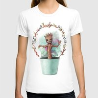groot T-shirts featuring Baby Groot by Pendientera
