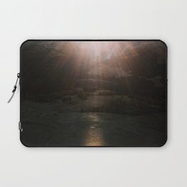 Aerial of a Lone Tree at the Alpe di Siusi Dolomites - Landscape Photography Laptop Sleeve