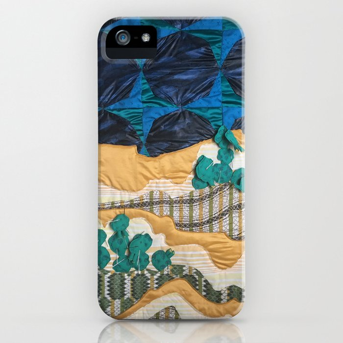 Deserted Stormscape iPhone Case