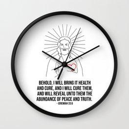 I Will Bring It Health Wall Clock