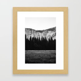 Yosemite Valley IV Framed Art Print