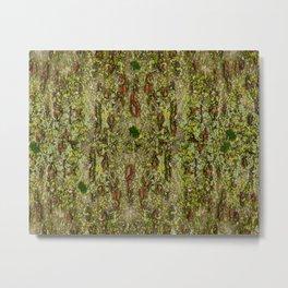 Japanese Cherry tree natura pattern Metal Print