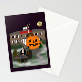 Halloweentown Plaza Stationery Cards