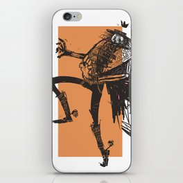 skeleton lord mexican style iPhone Skin